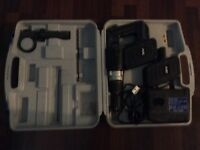Cordless Drill nutool 30v with case 2 battery's