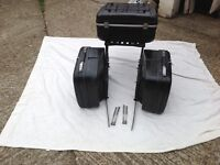 Karuser panniers top box and frame with keys