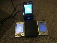 Dell Axim X30 - three PDA's