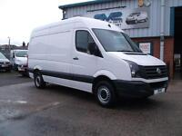 2013 63 VOLKSWAGEN CRAFTER 2.0 CR35 TDI MWB HIGH ROOF 30,000 MILES CHOICE OF