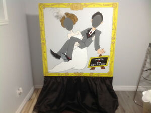 Wedding Picture cut out board
