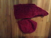 Knitted Berets and Scarves