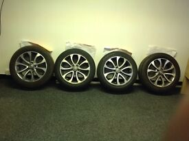 "Nissan Juke 17"" Alloy Wheels and Tyres"