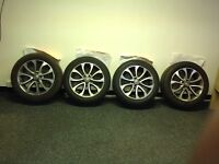 """Nissan Juke 17"""" Alloy Wheels and Tyres"""