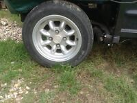 Classic mini wheels 12inch