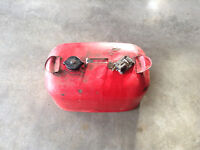 Gas tank for outboard boat motor