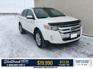 2014 Ford Edge Limited- LEATHER, SUNROOF & NAV - $172.58BW!