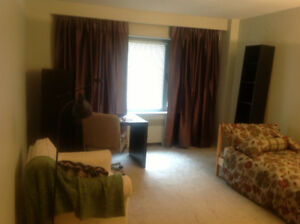 Luxury Furnished bedroom - one minute to  Ritz Carlton & McGill