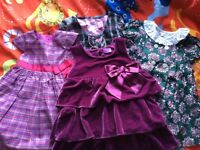 Baby Girl dresses from 3-6 months to 2-3 years old - bundle