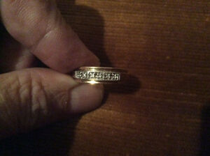 Men's  Diamond Gold Wedding Ring
