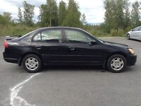2001 Honda Civic DX-G Berline NEGOCIABLE