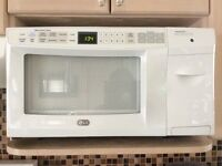 LG Microwave with Built-in Toaster
