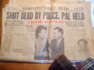 Oct. 25th, 1948 edition of The Toronto Star newspaper