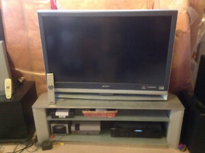"Sony WEGA 42"" tv for sale including stand"