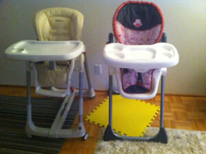 High chairs two