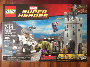 Lego Marvel Super Heroes # 76041 - The Hydra Fortress Smash