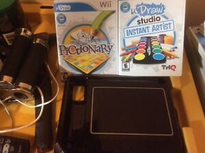 Wii Draw with 2 games