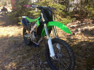 2014 kx250f , ex cond, new motor, papers, 3700$
