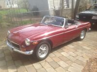 1974 Mgb Chrome bumpers