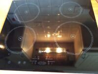 NEFF ELECTRIC CERAMIC INDUCTION HOB MODEL - IN NEW CONDITION USED FOR 6 months only! R.R.P. £649