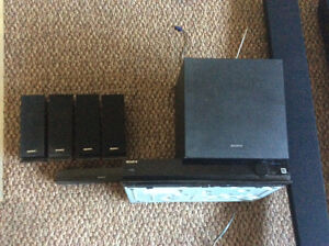 FULL SONY SURROUND WITH 2XTRA SPEAKERS