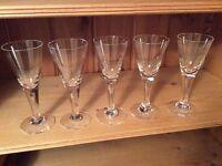 Top quality Dartingon Crystal glasses