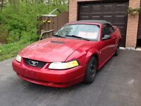 2000 Ford Mustang Convertible AS IS