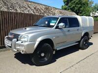 Mitsubishi L200 2.5 TD Ltd Warrior 2004 54, Reg...