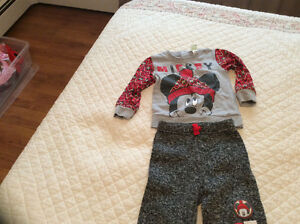 Mickey sweat suit