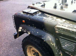 1980's 1990's Land Rover Defender military parts