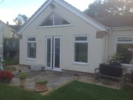 French doors and matching windows