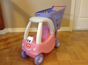 Little tykes doll car / grocery cart