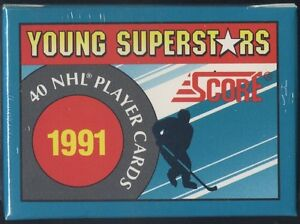 SCORE .... YOUNG SUPERSTARS ... 1991-92 ... includes SAKIC, JAGR