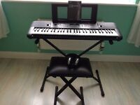 Yamaha digital keyboard PSR - E253