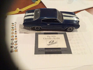 FRANKLIN MINT 1970 CHEVELLE SS 454 CHEVROLET