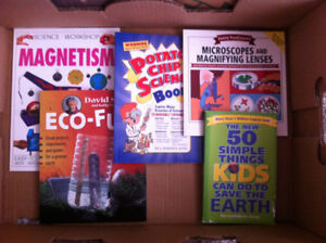 Science Book Lot