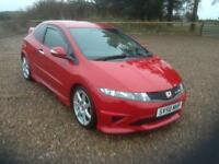 2008 Honda Civic 2.0 i-VTEC Type R Hatchback 3dr
