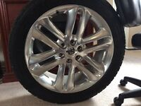 3 RIMS FOR SELL OFF OF F-150 LIMITED TRUCK!WILL SELL JUST 1.