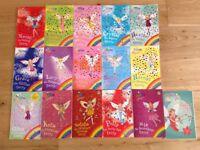 16 Rainbow fairy books