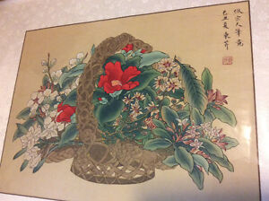 Authentic Chinese Color (Still Life) Paintings London Ontario image 1