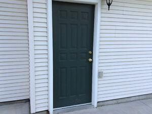 Used exterior doors