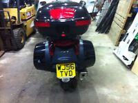 Honda Deauvile motor bike