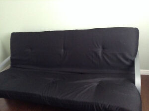 Almost new metal frame futon Cambridge Kitchener Area image 1