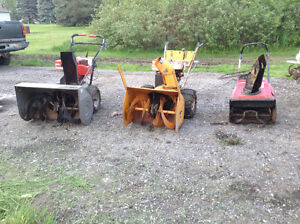 Snow Blowers For Sale