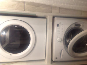 Like new kenmore washer and GAS dryer, 3 yr protection plan.