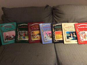 7 livres -Contes et Fables