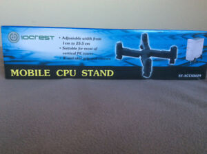 Mobile Computer Stand for PC Tower
