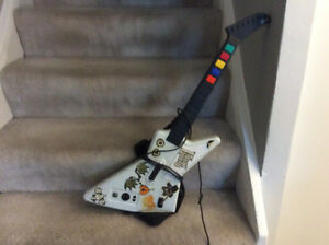 XBOX Rock Band Guitar and Drums