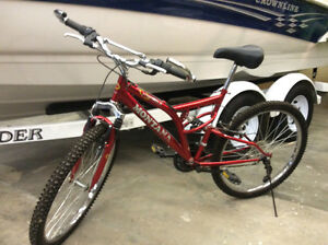 Montana 21 speed mountain bike