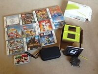 Nintendo ds lite with 11games